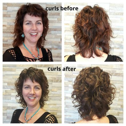 Krullen geknipt met curlsys in Poeldijk, het Westland