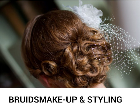Bruidsmake-up en styling