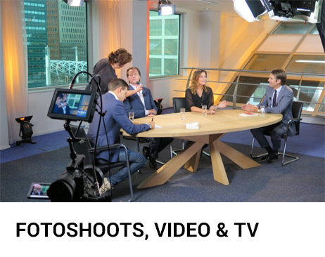 visagie voor fotoshoots, tv en video