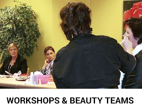 workshops en beauty teams