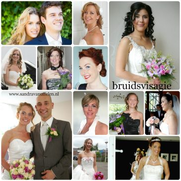 Professionele bruidsvisagie; zorgeloos mooi